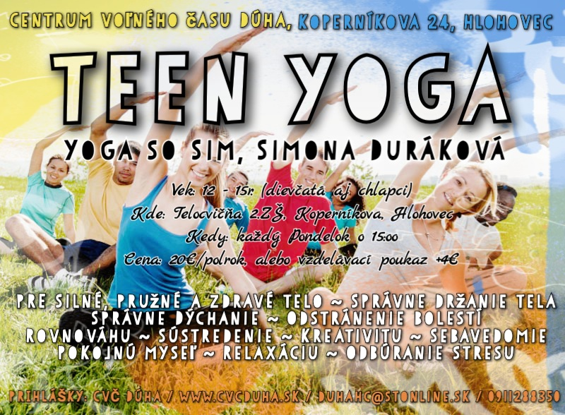 TEEN YOGA so Sim